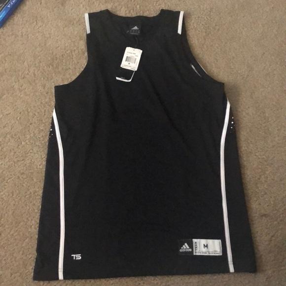 adidas Shirts   Adidas Blank Basketball Jersey   Poshmark